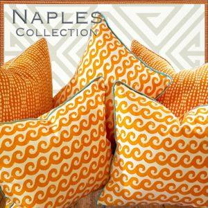 naples coastal pillows