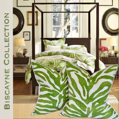 biscayne beachy pillows