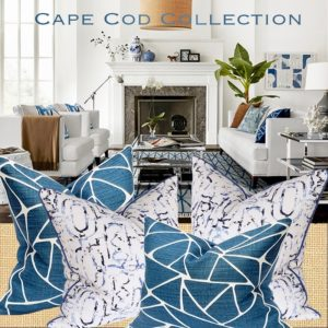 cape cod nautical pillows