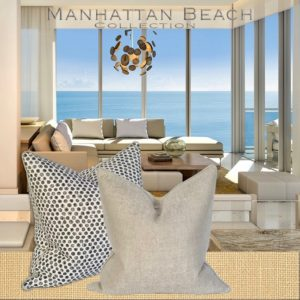 manhattan beach house pillows
