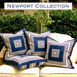 newport nautical pillows