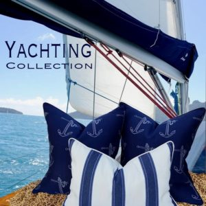 yachting nautical throw pillows
