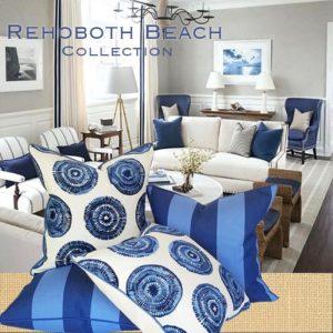rehoboth beach throw pillows